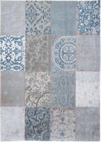 tapijt Louis De Poortere AV 8981 Vintage Bruges Blue