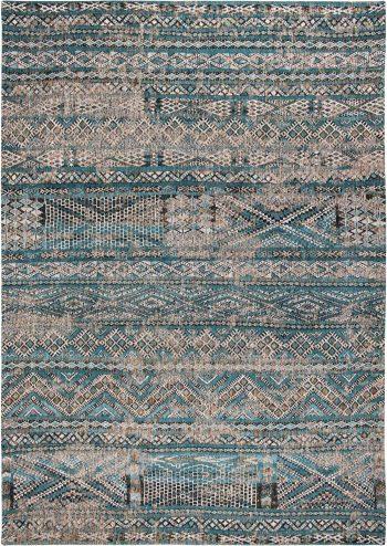 Louis De Poortere tapijt LX 9110 Antiquarian Kilim Zemmuri Blue