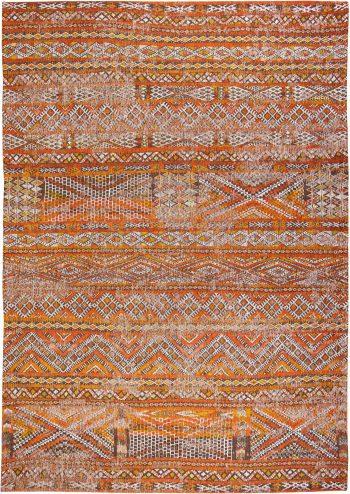 Louis De Poortere tapijt LX 9111 Antiquarian Kilim Riad Orange