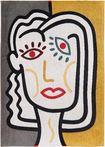 Louis De Poortere tapijt LX 9143 Gallery Dora Dorado